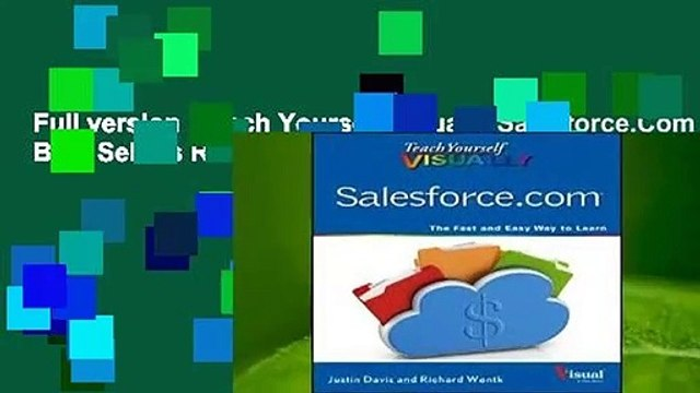 Full version  Teach Yourself Visually Salesforce.Com  Best Sellers Rank : #5