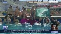Ces femmes en burkini revendiquent le droit de se baigner avec dans une piscine de Grenoble