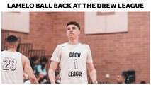 LaMelo Ball Back at the Drew League, Helps No Shnacks to Another Win - Full Highlights
