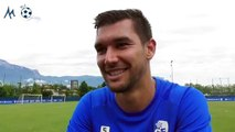 """Adrien Monfray (GF38) """"Il y a de la qualité à Grenoble"""""""