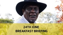 No power handover to thief | Uhuru ignores calls for PG | Not moved on: Your Breakfast Briefing