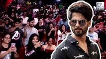 Shahid Kapoor Surprises Fans Watching Kabir Singh