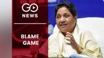 Mayawati blames Akhilesh Yadav