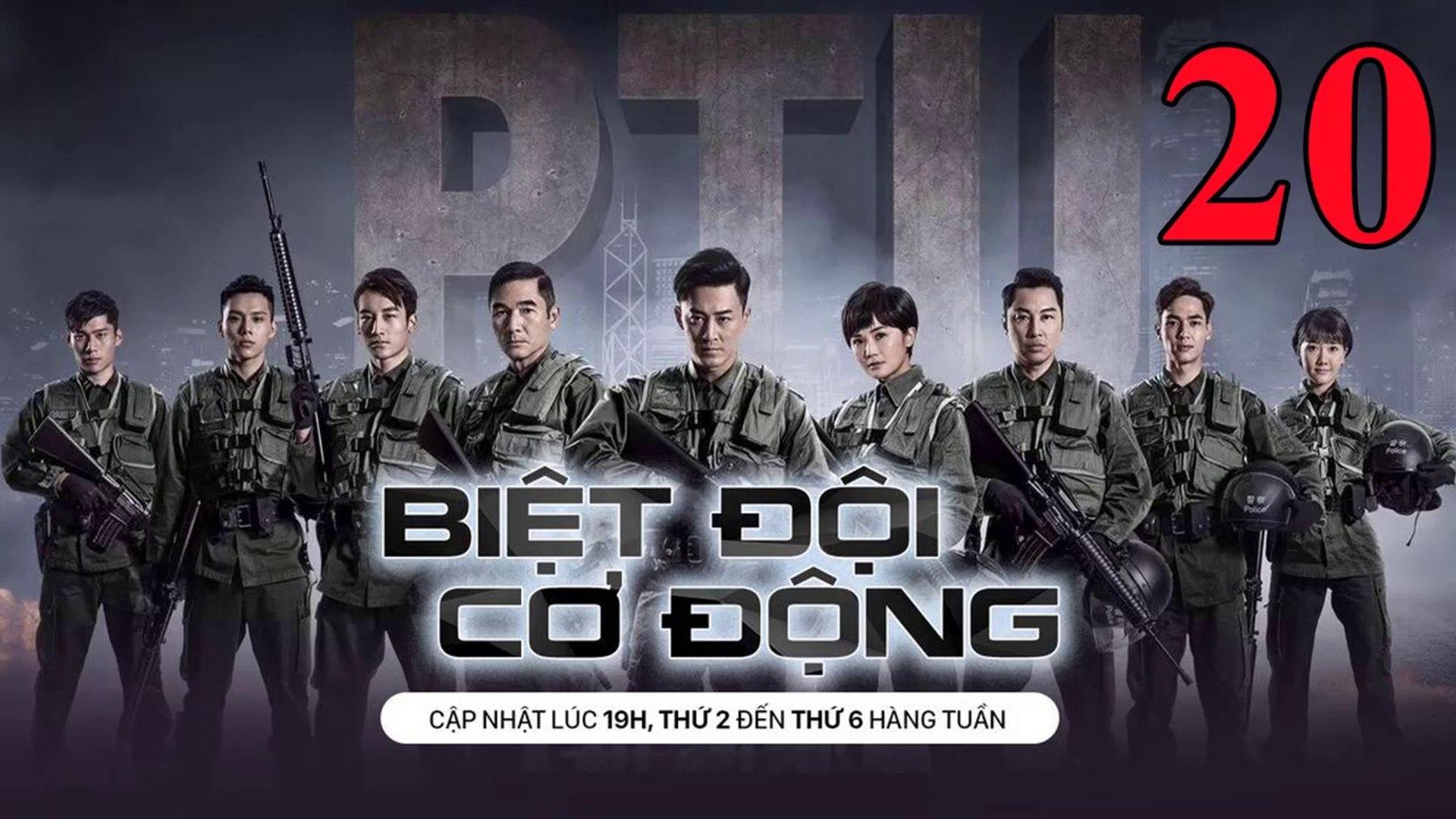 Phim Hành Động TVB: Biệt Đội Cơ Động Tập 20 Vietsub | 机动部队 Police Tactical Unit Ep.20 HD 2019