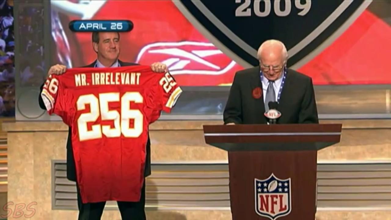 NFL Last Draft Pick 2008-2017 (Mr. Irrelevant)