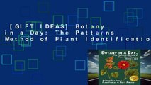 [GIFT IDEAS] Botany in a Day: The Patterns Method of Plant Identification