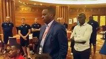 CAN 2019 : Antonio Souaré remonte le moral des joueurs du Syli après leur nul face à Madagascar