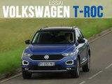 Essai Volkswagen T-Roc 1.6 TDi 115 Lounge (2019)