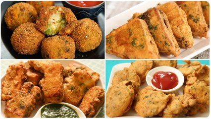 5 Best Monsoon Snacks - Quick And Easy Monsoon Special Recipes - Monsoon Special Pakoras