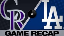 Smith's HR in 9th gives Dodgers walk-off win - Rockies-Dodgers Game Highlights 6/23/19