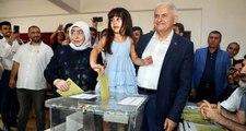Binali Yıldırım'ın Tuzla'da oy kullandığı sandıktan Ekrem İmamoğlu çıktı