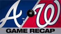 Camargo's late homer lifts Braves to 4-3 win - Braves-Nationals Game Highlights 6/23/19