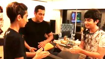 Coolest Uncle Salman Khan Playing With His Nephews