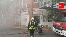 Incendio sin heridos en una tienda de frutos secos