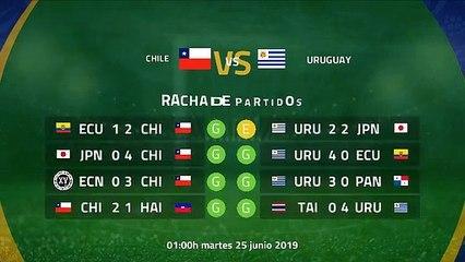 Previa partido entre Chile y Uruguay Jornada 3 Copa América