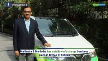 M&M's Pawan Goenka: For India, electric vehicles are the future not hybrids