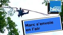 Marc Grandmontagne décolle à Pokeyland