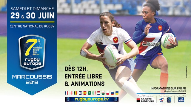 RUGBY EUROPE WOMEN'S SEVENS GRAND PRIX SERIES 2019 - PARIS- MARCOUSSIS