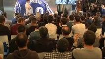 """Xabi Prieto: """"Mi sueño no era ser futbolista, era jugar en la Real"""""""