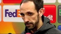 """Juanfran: """"Ha sido un gran resultado para el equipo pero toca ya pensar en el Real Madrid"""""""