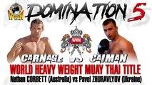 Domination Muay Thai 5 - Full Event