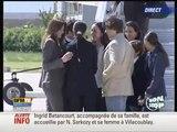 Ingrid Betancourt de retour en France