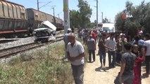 Tarsus'ta tren kazası: 1 ölü, 2'si ağır 4 kişi yaralı