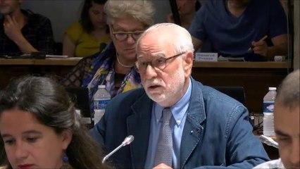 Paul ROBINAT en discussion générale le 24 juin 2019