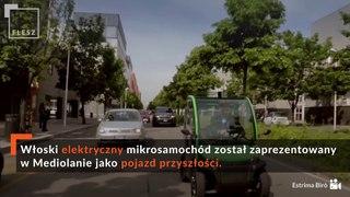 FLESZ: samochód zrobiony z plastiku po recyklingu, nie trzeba prawa jazdy, auto przyszłości