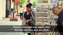 Turks react to the election of opposition mayor Ekrem Imamoglu