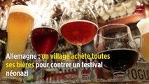 Allemagne : un village achète toutes ses bières pour contrer un festival néonazi