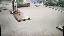 Deux enfants mettent le feu à un mémorial de la Seconde Guerre Mondiale