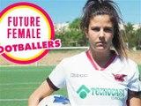 Portraits de footballeuses: Gema Prieto