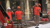 Spéciale Canicule: En raison des fortes chaleurs, les ouvriers qui travaillent en extérieur à Lyon ont des horaires aménagés - VIDEO