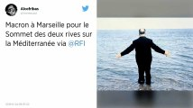 À Marseille, Emmanuel Macron dément vouloir choisir son candidat aux municipales