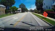 Camion-benne vs Feux de signalisation