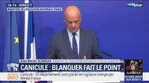 """Jean-Michel Blanquer: """"C'est la première fois que nous avons à assumer de telles chaleurs alors qu'il y a encore cours et des examens"""""""
