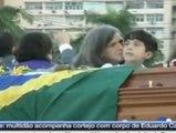 Brasil se despide de Eduardo Campos