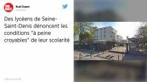 Seine-Saint-Denis. «Sommes-nous moins français?»: des lycéens dénoncent leurs conditions de travail