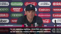 CRICKET: ICC World Cup: Morgan and Finch not worried about booing of Smith and Warner