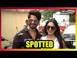 The Kabir Singh duo, Shahid Kapoor and Kiara Advani visit Cinemaghar to see audience's reaction