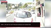 Nice : Un SDF se fait rouler dessus en pleine rue (Vidéo)