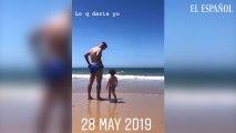 Noelia Lopez publica un vídeo de Reyes y su hija