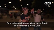Football/WC-2019: Fans celebrate France's extra-time victory