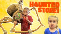 Haunted Store- Scary Halloween Costume Shopping with the KIDS at 3 pm-