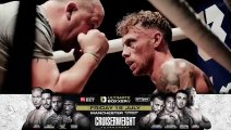 KIERON CONWAY REACTS TO SPLIT DECISION DRAW AGAINST TED CHEESEMAN ON JD NXTEGEN SHOW @ YORK HALL