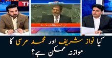 Can Nawaz Sharif be compared to Mohamed Morsi?