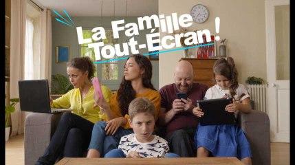 La famille tout écran - Pas d'écrans en mangeant