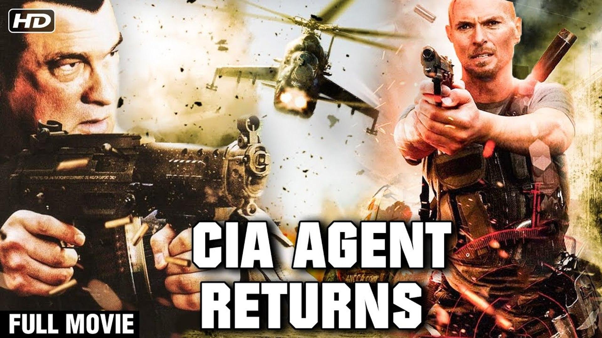 C.I.A Agent Returns Full Hindi Movie - Super Hit Hollywood Movie In Hindi - Luke Goss - Action Movie