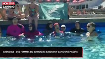 Grenoble : Des femmes en burkini se baignent dans une piscine municipale (Vidéo)